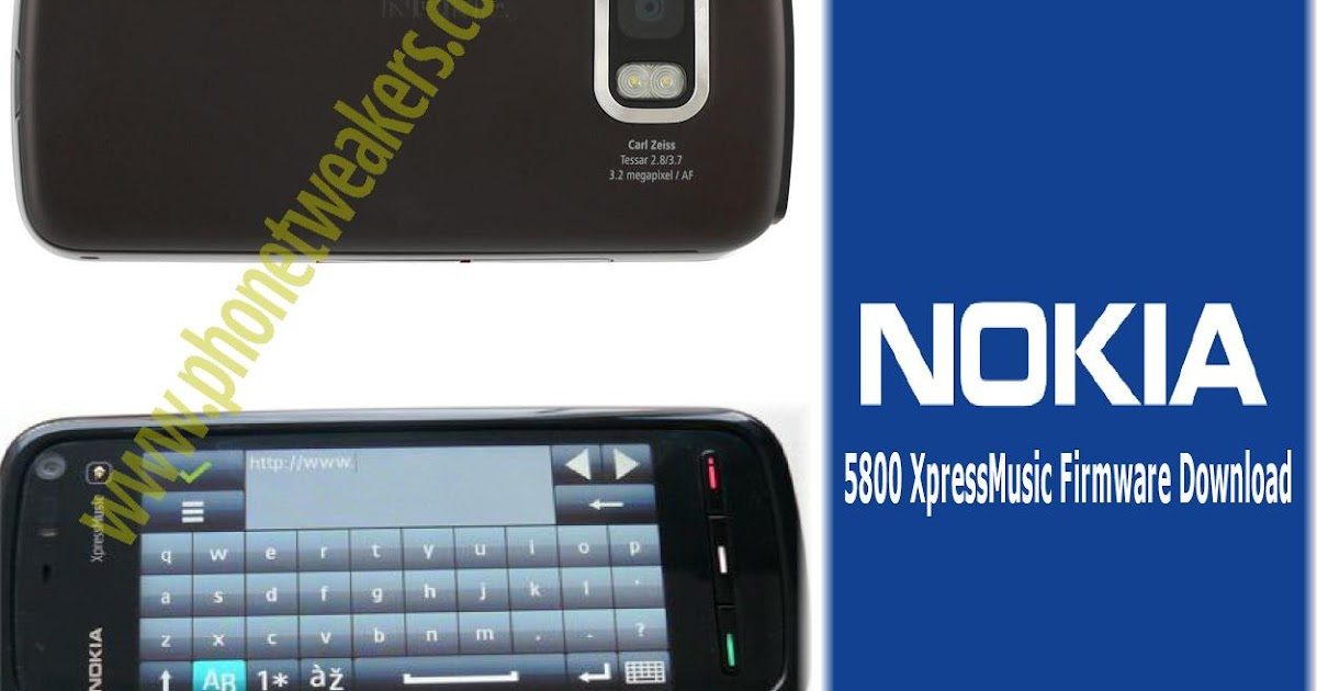 Nokia 5800 Xpressmusic Latest Firmware Download ...