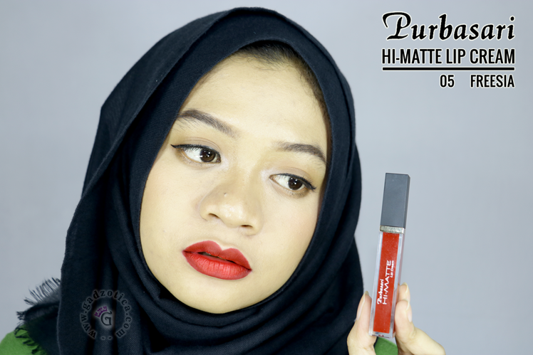 Purbasari Hi-Matte Lip Cream Freesia
