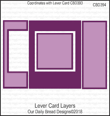 Custom Die: Lever Card Layers