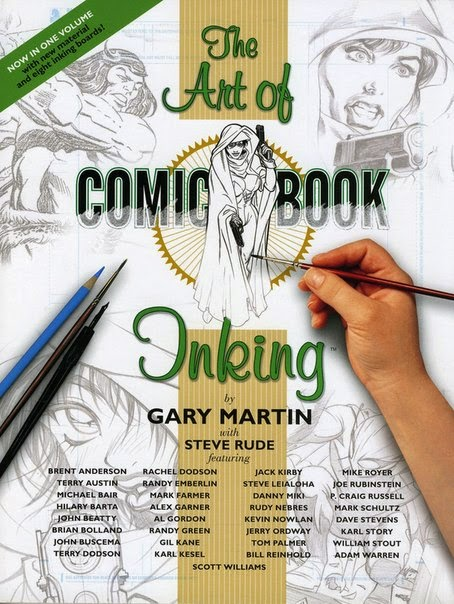 The Complete Art of Comic Book Inking - How To Draw Library