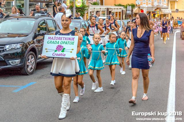Europsko prvenstvo i Europski kup mažoretkinja 2018. Opatija 23. do 26. kolovoza