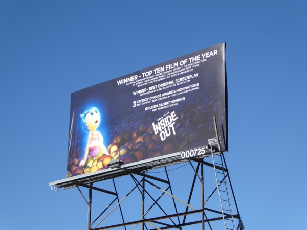 Inside Out awards consideration billboard