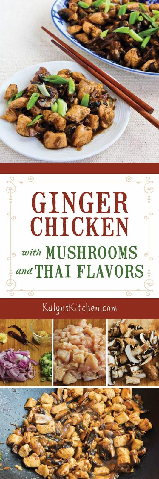 Mark bittmans ginger chicken with mushrooms and thai flavors mark bittmans ginger chicken with mushrooms and thai flavors kalyns kitchen forumfinder Image collections