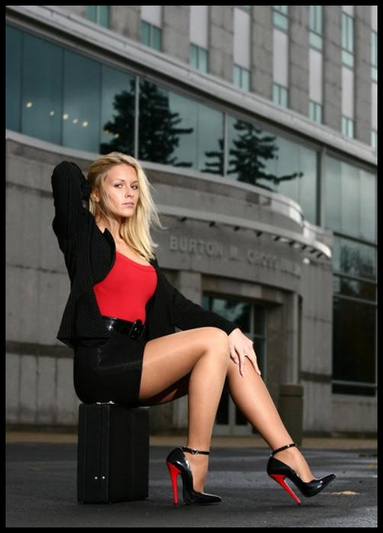 Photos of women in high heels