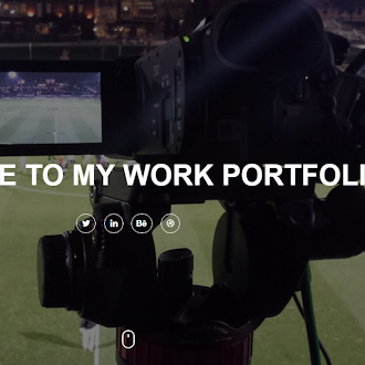 Website example: A Work Portfolio