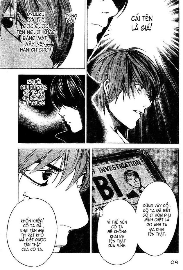 Death Note chapter 013 trang 9