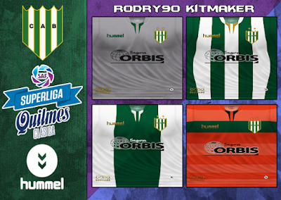 PES 6 Kits Club Atlético Banfield Season 2018/2019 by Rodry90 Kitmaker