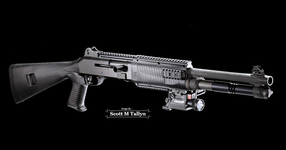 Gunshots Photography Benelli M4 Shotgun Part 1