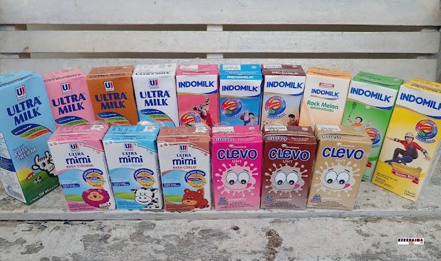 susu uht bergizi untuk anak