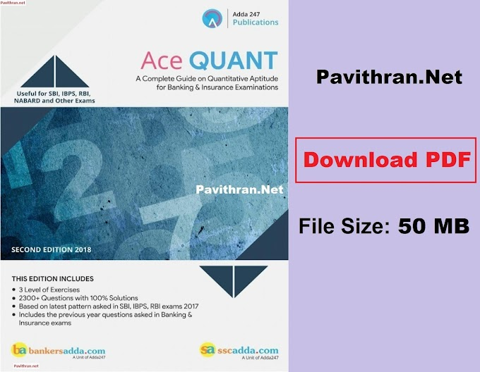 Adda247 Ace Quant Paid Aptitude Book Download PDF for All competitive Exams