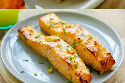 Honey Mustard Baked Salmon Recipe