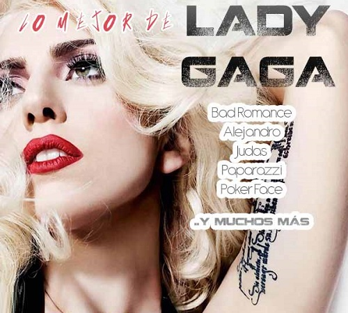 Lady Gaga The Greatest Hits 2016 Cover