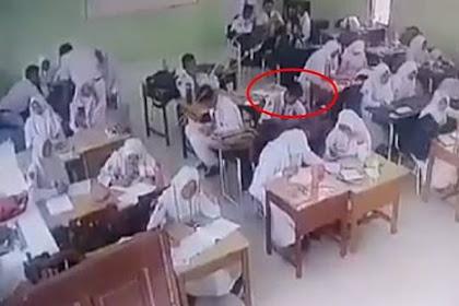 Satu Kelas Mendadak Gempar, Rekaman CCTV Tunjukkan Makhluk Ini di Dalam Kelas