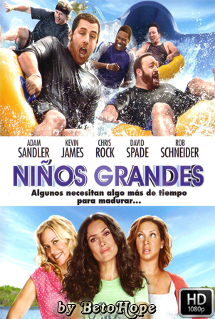 Niños Grandes [2010] [Latino-Ingles] HD 1080P  [Google Drive] GloboTV