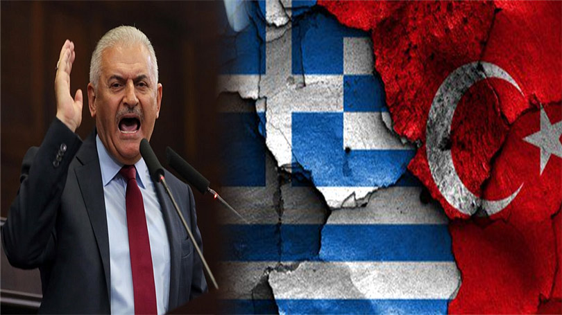 Γιλντιρίμ - Κατεβάσαμε ελληνική σημαία από βραχονησίδα - 1