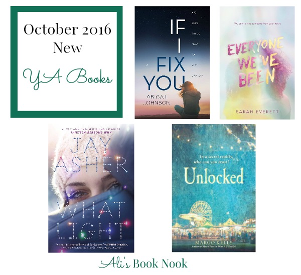 New Books for Teens during October