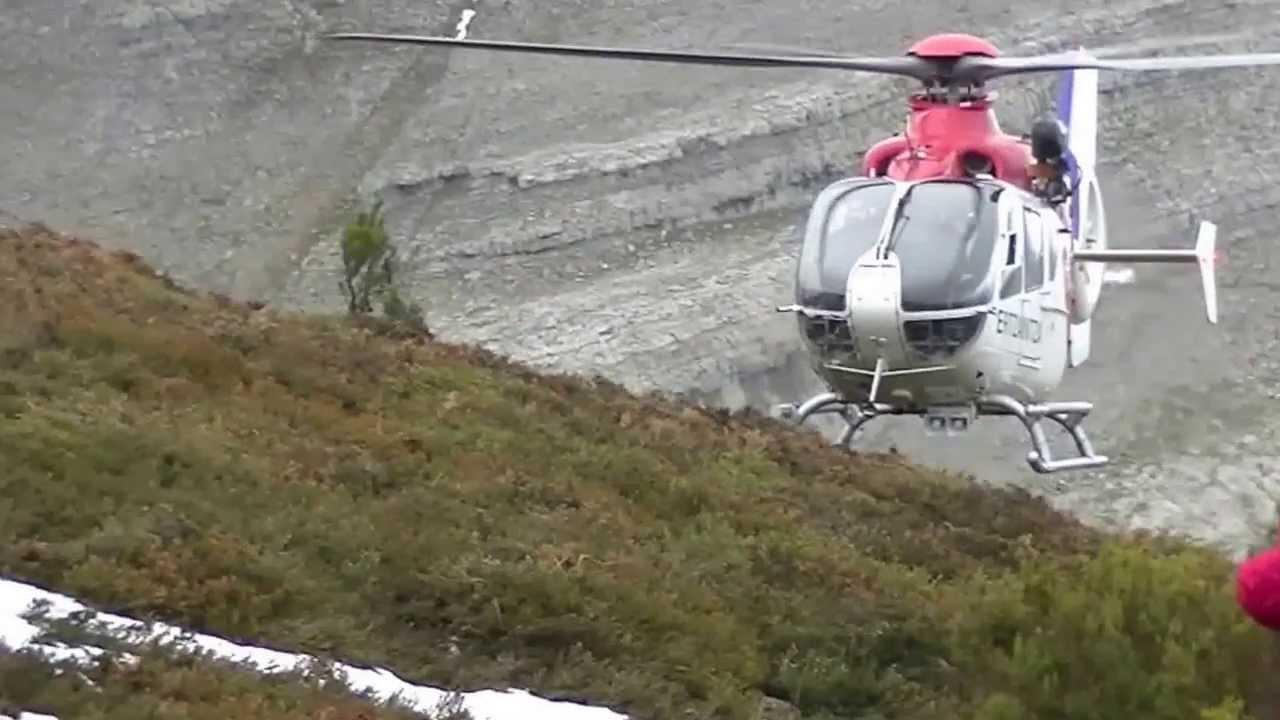 Rescate de dos socorrista de la Cruz Roja en La Galea