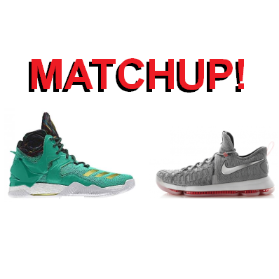 470b5b16630a DRose 7 versus KD 9  One-on-One Matchup