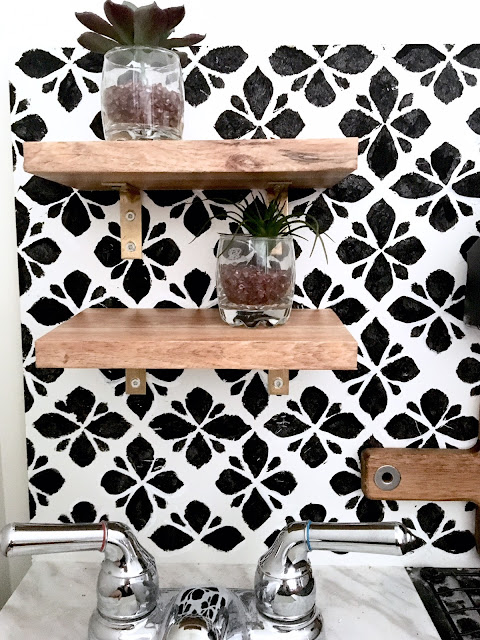 DIY-play-kitchen-remodel-harlow-and-thistle-faux-wood-shelves