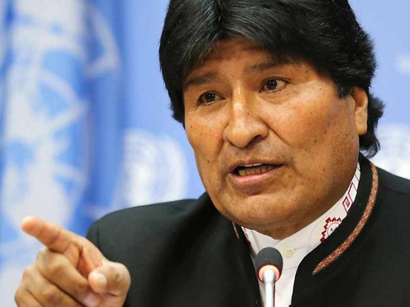 Evo Morales reafirma lucha contra intervención de EE.UU. en la región