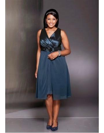 fcb65128b Aquí vas a encontrar un patrón gratuito de vestido de fiesta para tallas  grandes.