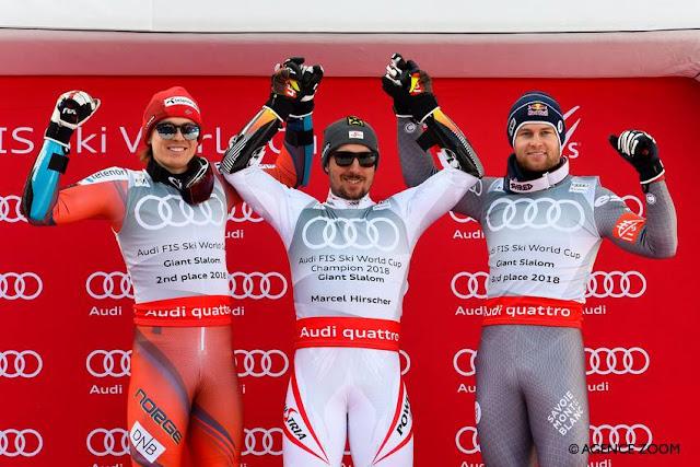 Marcel Hirscher Wins Last World Cup Giant Slalom