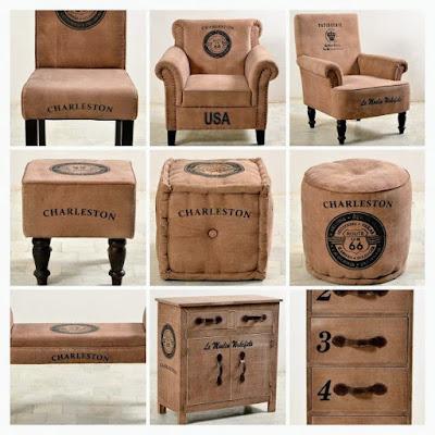Classic canvas furniture image