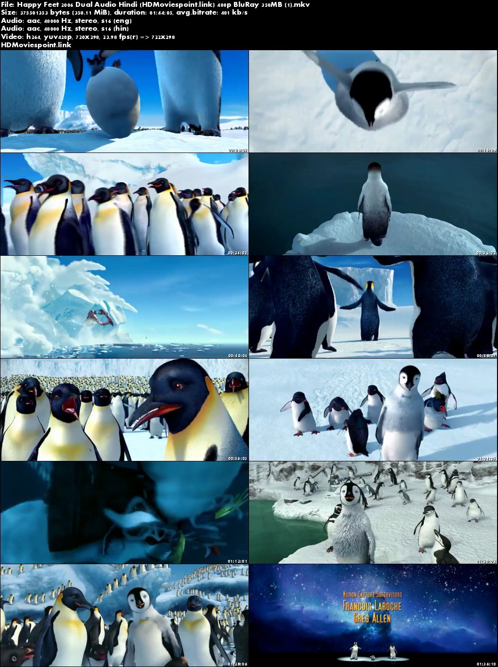 happy feet 2006 movie dual audio free download 300mb