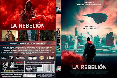 CARATULA LA REBELION - NACION CAUTIVA - CAPTIVE STATE - 2019 [COVER DVD]