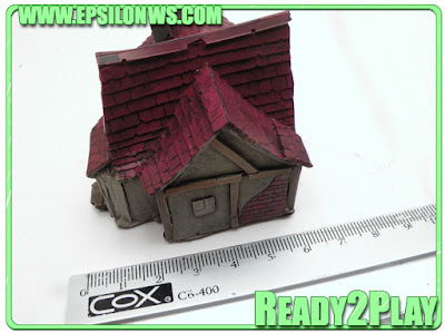 EPS-EMP02  2 Pre-painted Houses 8