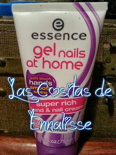Crema de manos Essence Gel nails at home