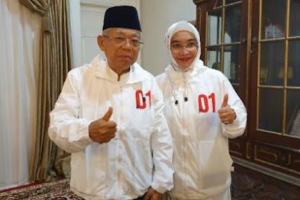 Ma'ruf Sesalkan Kubu Prabowo Paparkan Kecurangan Pemilu ke Publik