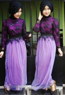 Baju Muslim Brokat Modern, Model Terbaru