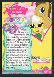 My Little Pony Mayor Mare & Time Turner Series 1 Trading Card