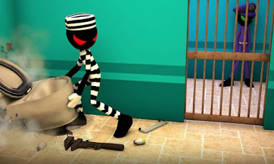 Stickman Escape Story 3D v1.6 Mod+Apk (Unlimited Gold)