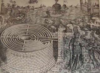 Tezeu, Ariadna, labirintul