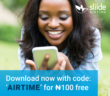 You Can Get Upto N20,000 Free Airtime Using Sliide Airtime App
