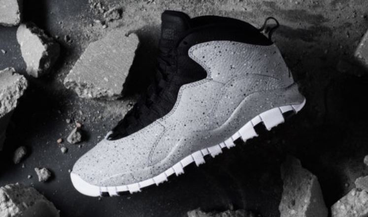 c1612f2d77c THE SNEAKER ADDICT: Air Jordan 10 Cement Retro Sneaker (Detailed ...