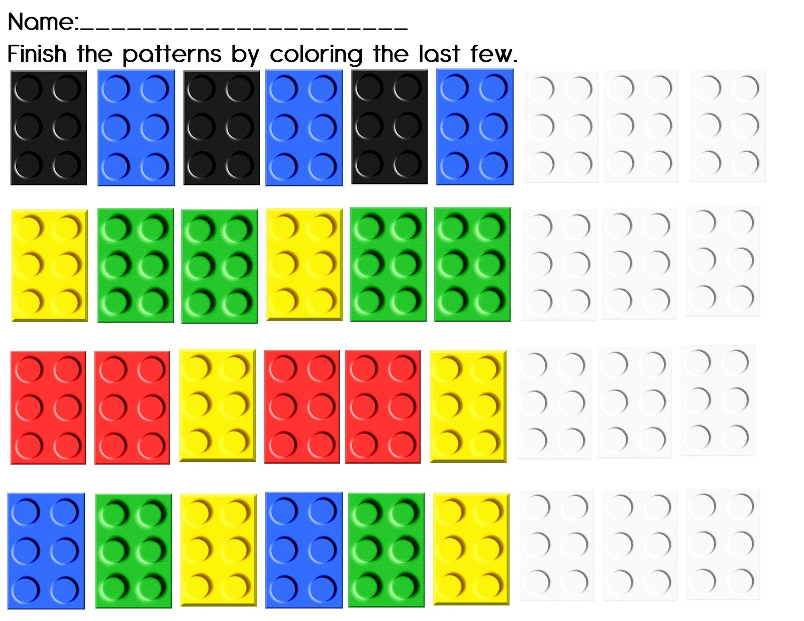 The Crazy Pre K Classroom 75 Ways To Learn With Legos