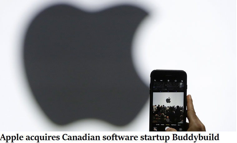 Apple acquires Canadian software startup Buddybuild