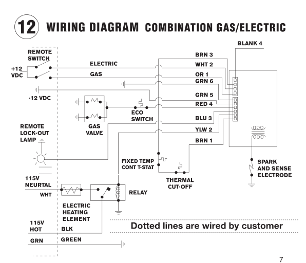 lennox electric furnace wiring diagram e12q4 20 1p