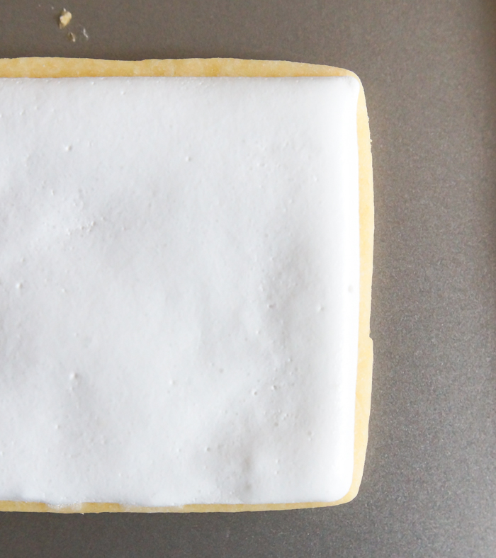 royal icing that won't dry