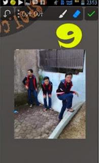 Gandakan Objek dengan Apk PicSay pro
