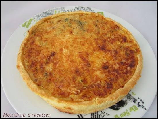 Mon tiroir recettes blog de cuisine quiche au poulet r ti - Recette de cuisine quiche au poulet ...
