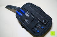 Stifte: Taktische Hüfttaschen , Sahara Sailor EDC Molle Tasche Nylon Gürteltasche für Wandern, Outdoor-Camping und Radfahren mit Aluminiumkarabiner