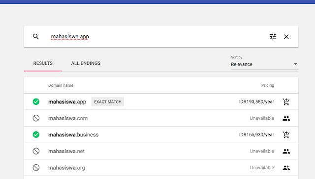 Cara Beli Domain Dengan Indomart dan alfamart