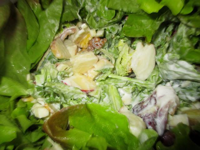 Waldorf  saláta
