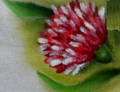 como pintar cravo em tecido