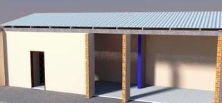 Atap flat/datar