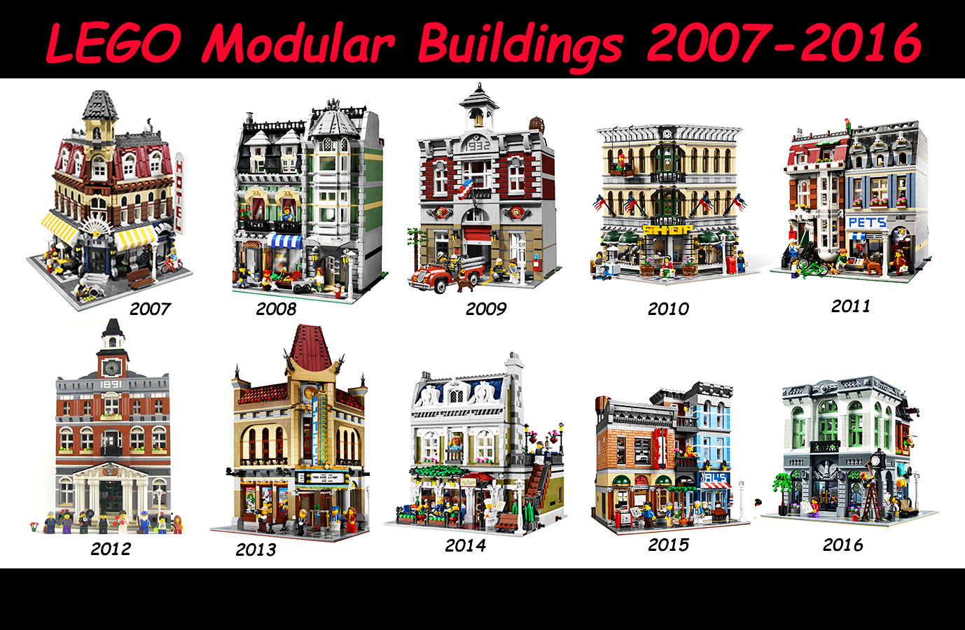 lego modular buildings overview my lego talk. Black Bedroom Furniture Sets. Home Design Ideas